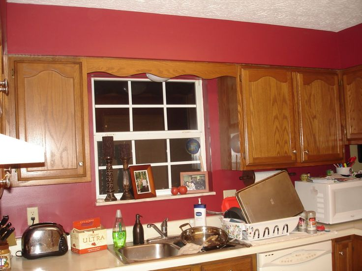 Red Country Kitchen Ideas