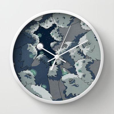 Wall Clock http://society6.com/carrillo