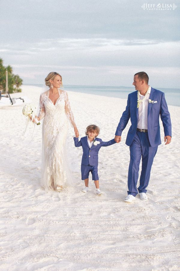 Beach Wedding Inspiration | In love with this little man's attire!!