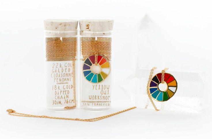 Collier Yellow Owl Workshop, cadeaux de moins de 50 euros