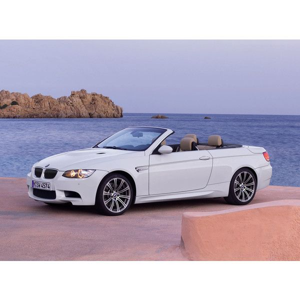 2011 BMW M3 Convertible Pictures ❤ liked on Polyvore featuring cars