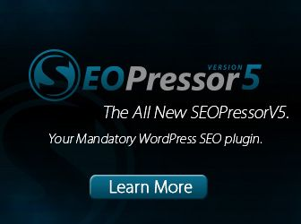 SEO Pressor 5. Once you've successfully installed and activated SEOPressor V5, it's time to optimize your pages to get top rankings on result pages! So where do we start? Well, the first thing you need to have is content. Any SEO guru would tell you the same thing.