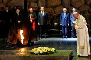 El papa Francisco deposita una ofrenda floral en la tumba del fundador del sionismo en Jerusalen, Noticias SC