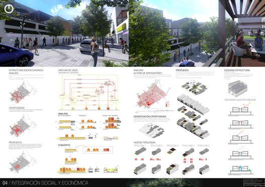 Tercer Lugar Concurso Nacional de Ideas para la Renovación urbana del área centro de San Isidro,Lámina 04. Image Courtesy of ZIM Arquitextura + Pablo Guiraldes