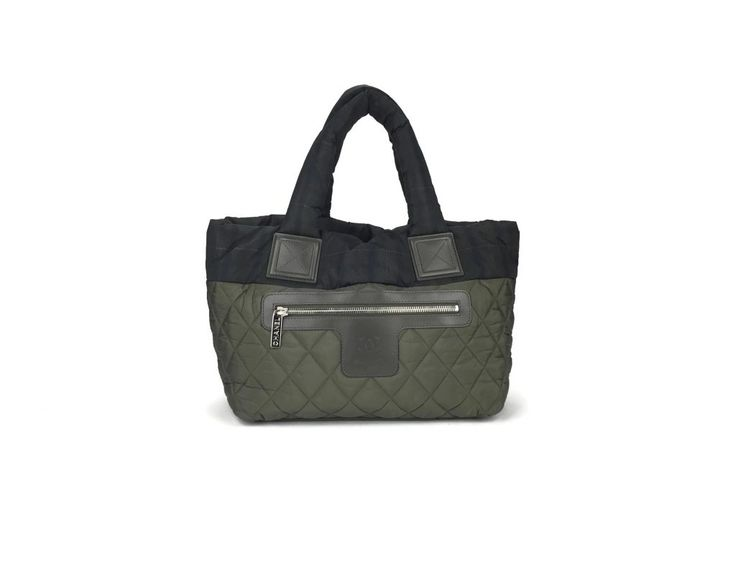 Chanel Nylon Cocoon Small Bowler Bag