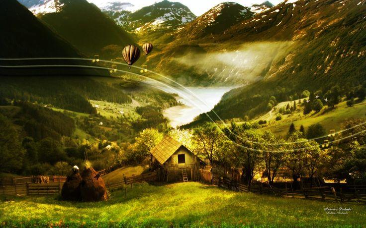 fantasy+landscapes | Fantasy Landscape Wallpaper 1280 x 800