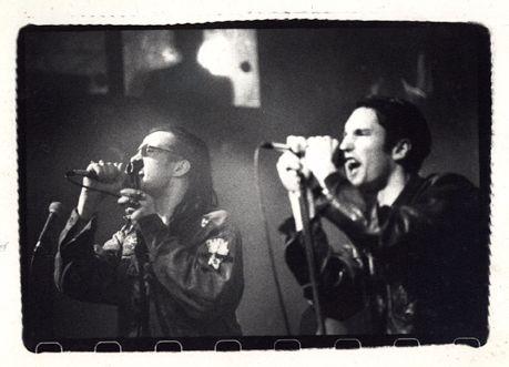 Nivek Ogre (Skinny Puppy, ohGr) & Trent Reznor (Nine Inch Nails)