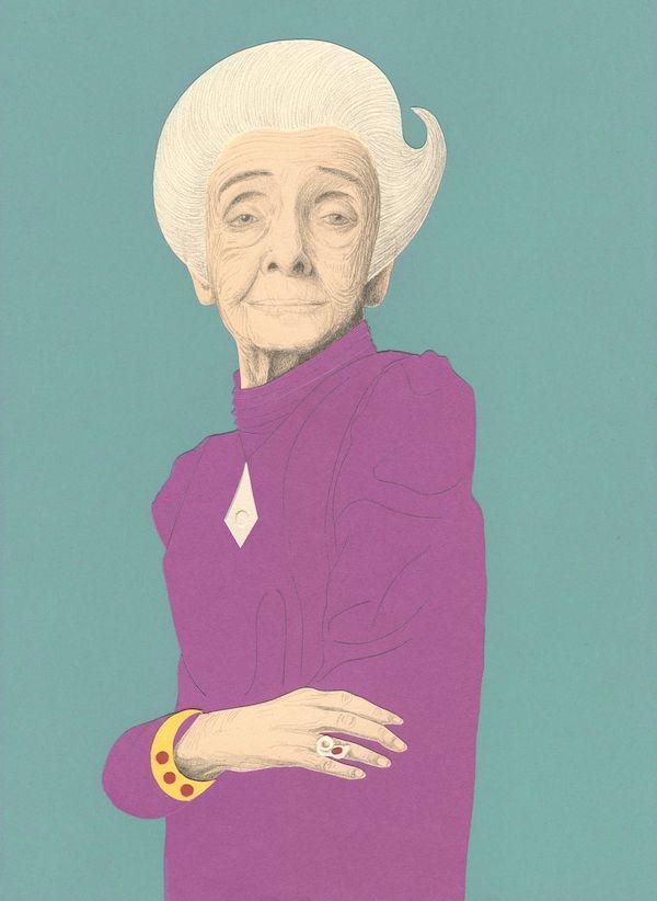 Le sorelle Brontë Illustrazione di Elisabetta Stoinich Storie della buonanotte per bambine ribelli, di Elena Favilli e Francesca Cavallo 2016 Timbuktu Labs, Inc