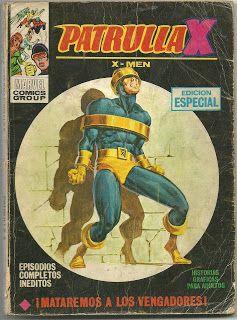 Tebeos, comics y otros sucedaneos en mis estanterias: La Patrulla X Tomo Vertice #26