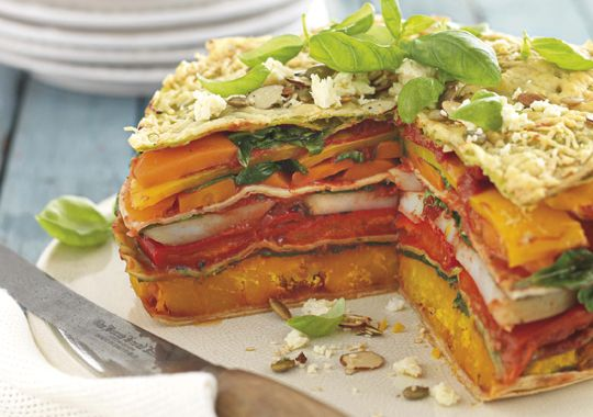 Chargrilled Vegetable Stack