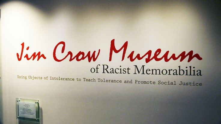 Racist images in the Jim Crow era demeaned African Americans and legitimized violence against them. A visit to the Jim Crow Museum in Michigan.