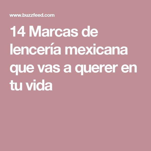 14 Marcas de lencería mexicana que vas a querer en tu vida
