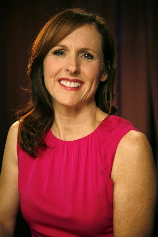 Molly Shannon, 1964 comic actress.
