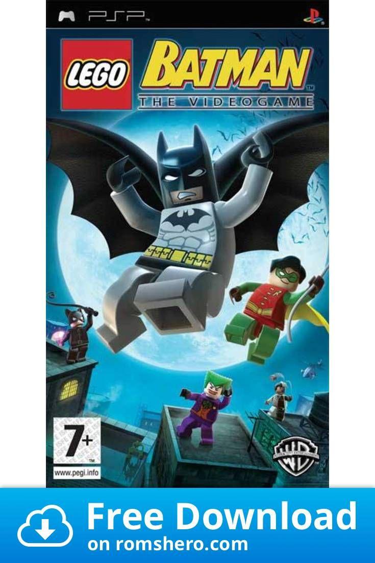 Download Lego Batman The Video Game Playstation Portable Psp Isos Rom Lego Batman The Videogame Lego Batman Lego Batman Games