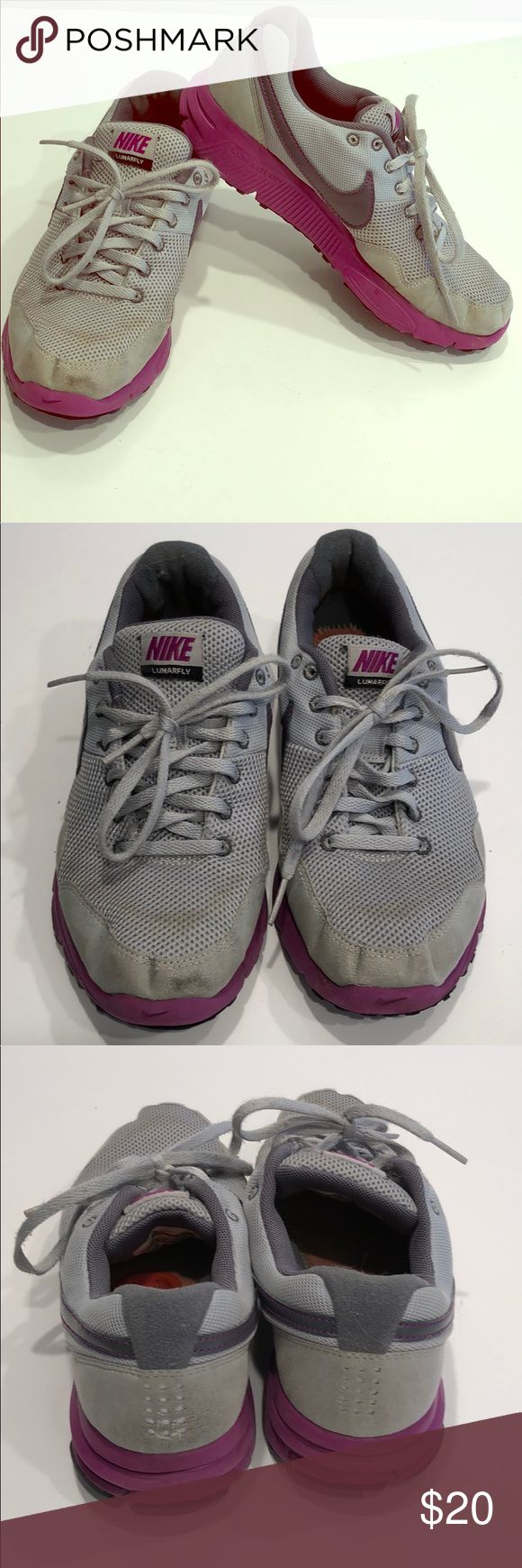 🏃♀️Ladies Nike shoes. Lunarfly .Fit girls🤛 Size 6.5 ladies Nike Lunarfly shoes . Worn , need new soles. Nike Shoes Sneakers