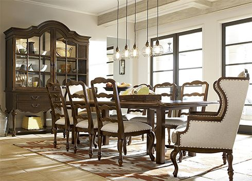 Charming Love This Hutch.This Regal Dining Room Mixes Traditional And Casual Styles  Perfectly. The Cordevalle Collection At Belfort Furniture.