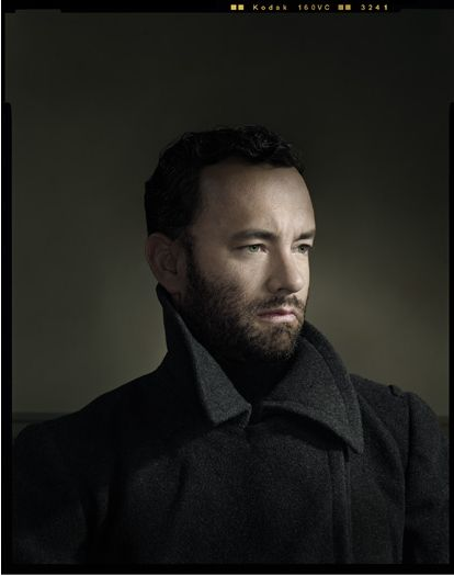 Dan Winters with Tom Hanks, pretty popular image. The snoot/grid work is amazing here.