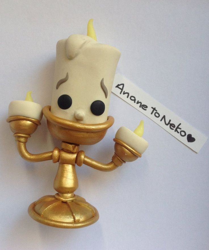 Lumiere Pop Disney Polymer Clay by ananetoneko on DeviantArt