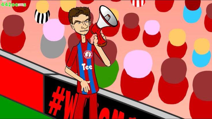 """442oons """"The Funniest Shootout Ever""""  Bayern v Dortmund  http://youtu.be/ZkBFVtDZYlA"""