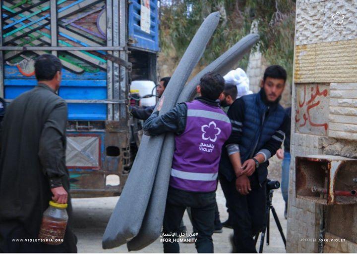 يستمر فريق الطوارئ بعمليات إجلاء العوائل الناجية من القصف الشديد على ريف حلب للمناطق الآمنة نسبيا من خلال تأمين النقل و السكن المؤقت ل In 2020 Violet Human Fashion