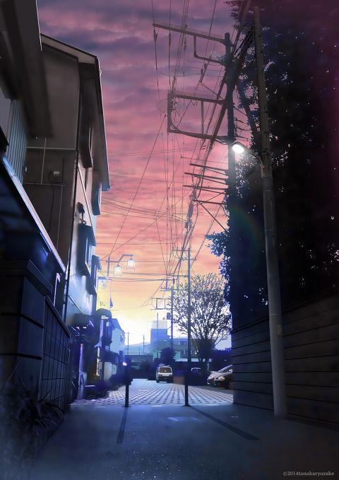 [pixiv] Sunsets! - pixiv Spotlight. By Ryosuke