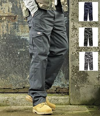 Dickies Redhawk Super Work Trousers Mens Workwear Protective Clothing Cargo in Clothes, Shoes & Accessories, Men's Clothing, Trousers | eBay
