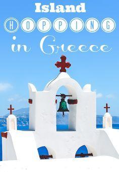 Island Hopping in Greece - Santorini, Paros, etc.