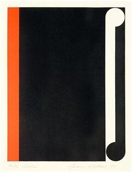 Gordon Walters, Kahu,1977