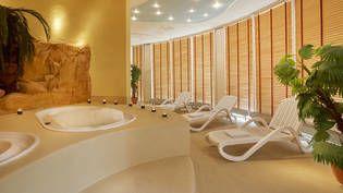 Wellnessbereich im H+ Hotel Magdeburg