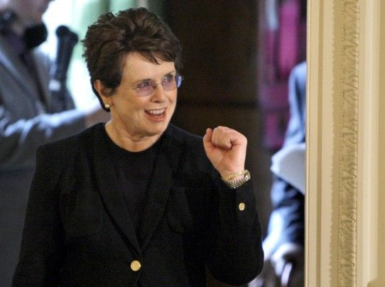 Billie Jean King embraces her role as openly gay delegate to 2014 Sochi Olympics - The Washington Post