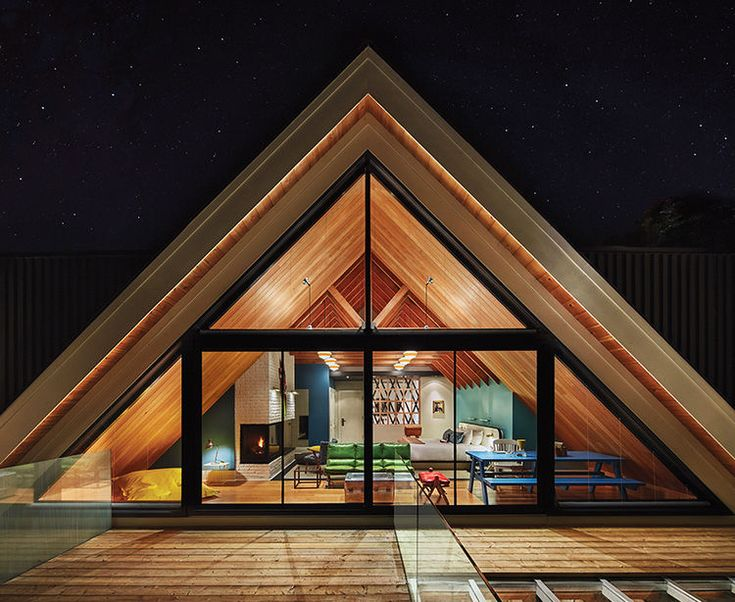 5 modern a frame houses we love a frame owners suite at the drake devonshire hotel in ontario