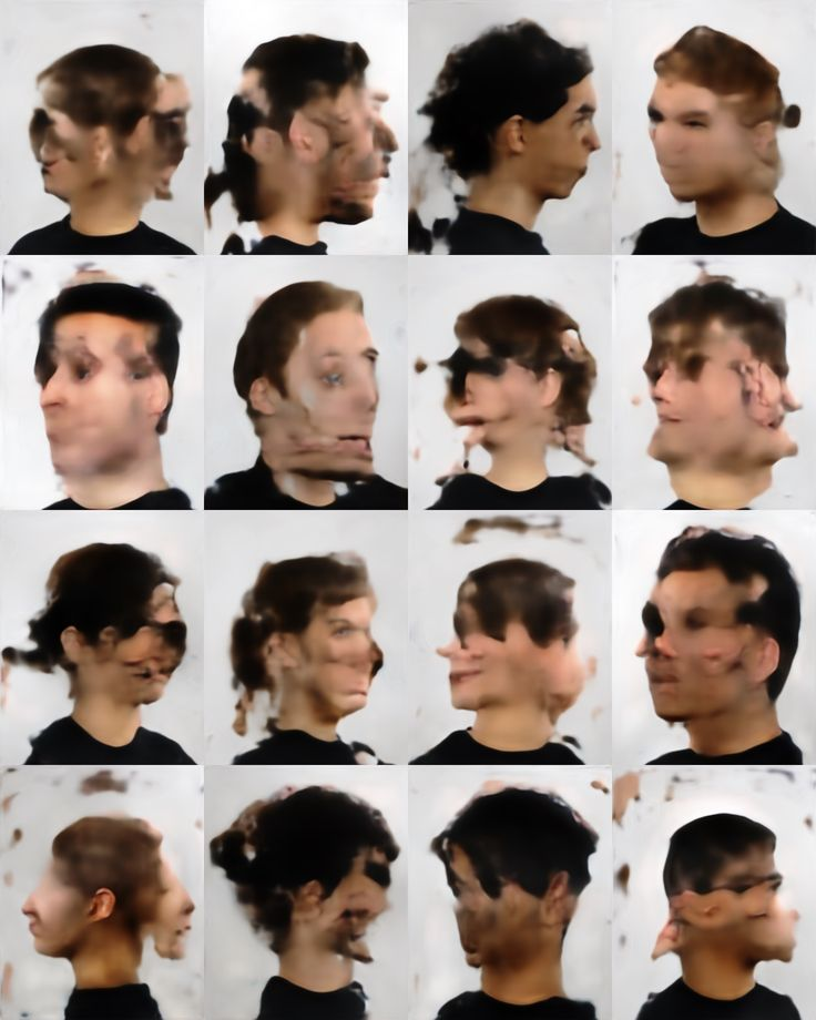 Generating Faces with Deconvolution Networks