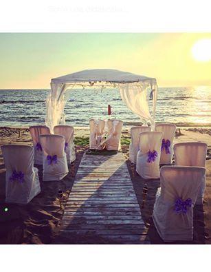 Organiziamo insieme il tuo matrimonio sulla spiaggia
