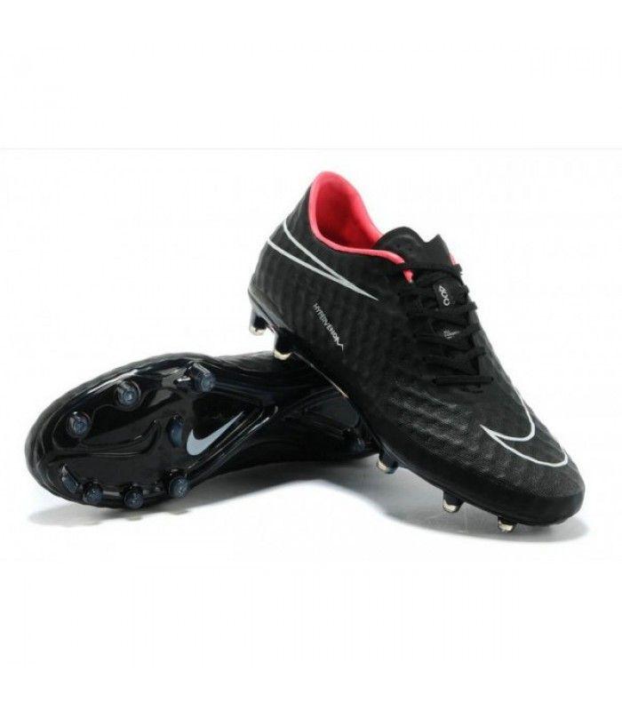Acheter Crampon de Foot Nike Hypervenom Phantom Neymar FG Noir Hyperpunch pas cher en ligne 91,00€ sur http://cramponsdefootdiscount.com
