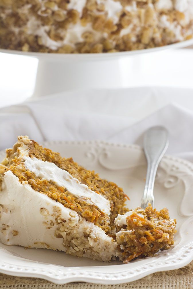 FRETTING ABOUT THE HOLIDAYS? CARROT CAKE RECIPE–IT'S VEGAN AND GLUTEN-FREE. // Vegan, Gluten-Free Carrot Cake