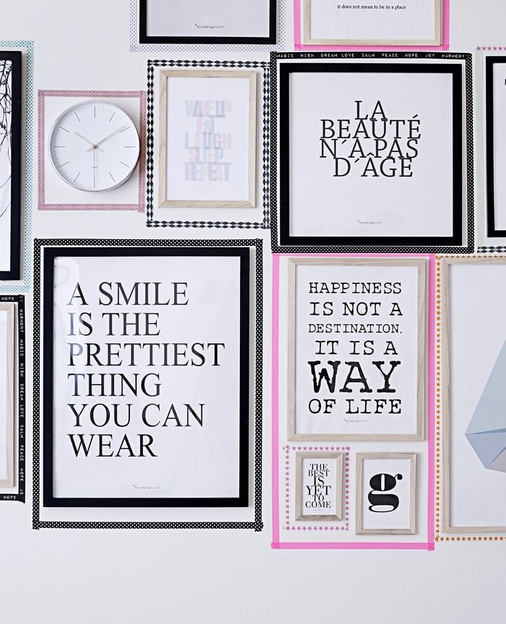 5 alternatives for hanging art without frames masking