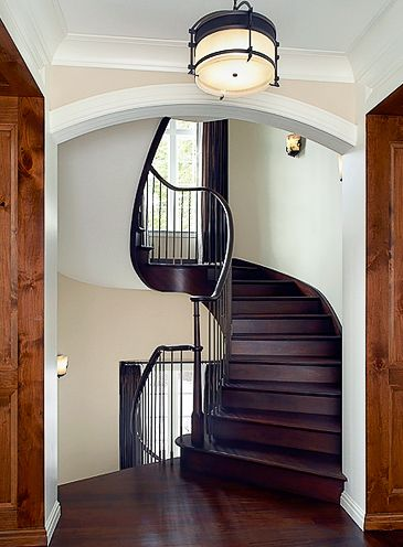 Best Extraordinary Custom Made Wood Spiral Staircase By 400 x 300