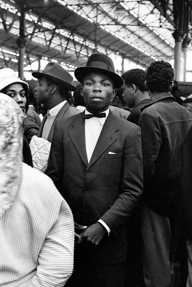 The Historic 'Windrush' Photographs by Howard Grey. Waterloo Station in London UK - June (1962)
