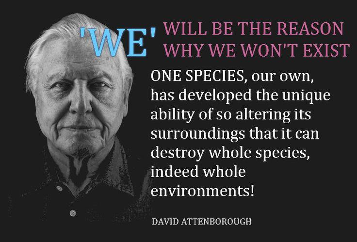 david attenborough, existence, survival, species