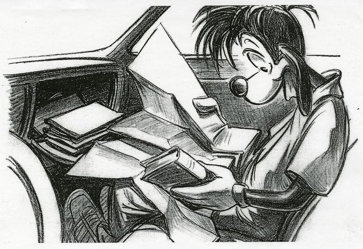 Andy Gaskill  The Goofy Movie  StoryboardsSequential Art