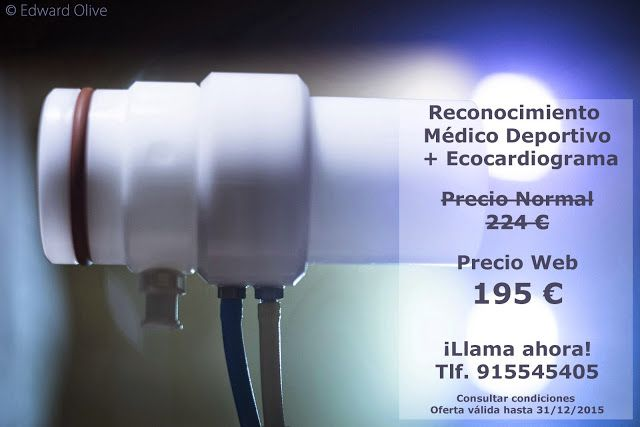 http://rehabilitacionavanzada.blogspot.com.es/2015/05 /reconocimiento-medico-deportivo.html Reconocimiento Médico Deportivo + Ecocardiograma en Madrid