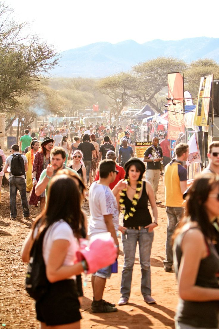 Oppikoppi: Nude Olympics, red dusty camping, thorny African scrub, oh, and lots of South African bands jamming in the veld.