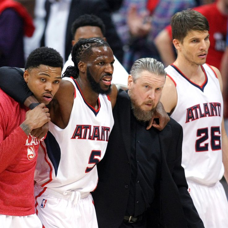 Sprained knee makes DeMarre Carroll a game-time call for Game 2