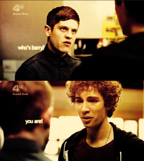 Simon & Nathan ... And I Guess, Barry Too :) // Misfits