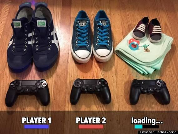 When the baby's July due date rolls around, Travis and Rachel won't have as much time for gaming, but they'll certainly have many other opportunities for family bonding.