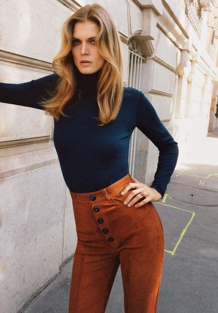 le chic dans la peau: malgosia bela by angelo pennetta for vogue paris november 2015 | visual optimism; fashion editorials, shows, campaigns & more!