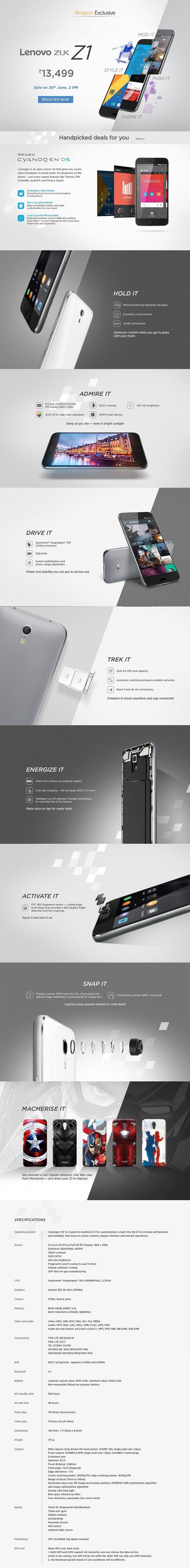 Lenovo zuk z1 900