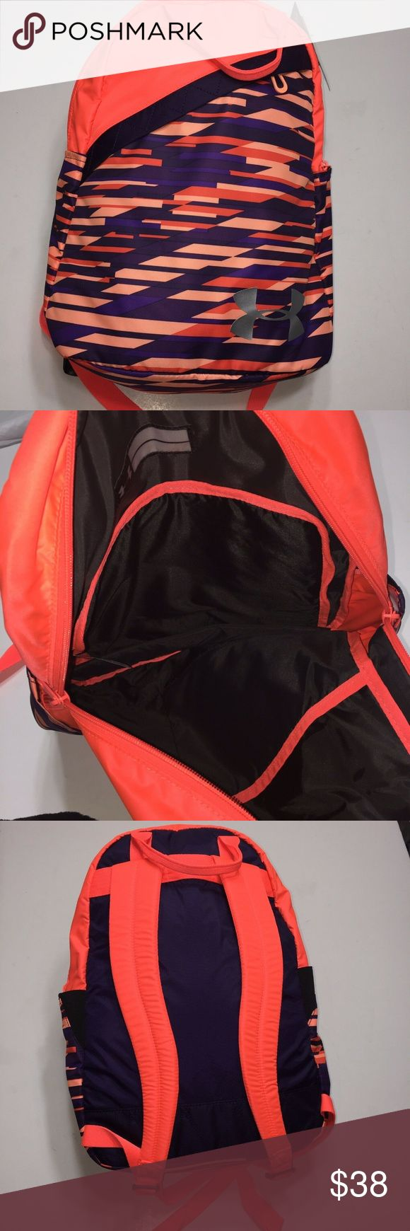 Under Armour Favorite Backpack Orange and Purple Under Armour Girls' / Women…