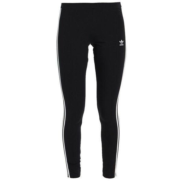 adidas Originals 3 STRIPES TIGHT Leggings ❤ liked on Polyvore featuring pants, leggings, stripe pants, striped leggings, adidas originals, adidas originals pants and striped trousers