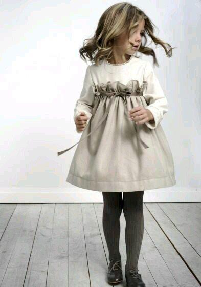 Идеи детских платьев европейского стиля